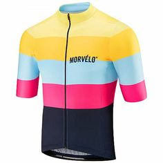 Buy Morvelo Zoom Standard Jersey here at ProBikeKit USA. We have great prices on bikes, components and clothing, as well as free delivery available! Cycling Jerseys, Cycling Bikes, Football Jerseys, Cycling Equipment, Cycling Tops, Football Kits, Cycling Outfit, Cycling Clothing, Bicycle Maintenance
