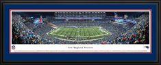 New England Patriots Panoramic - Gilette Stadium Picture