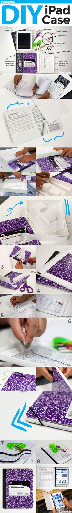 DIY Ipad Case diy craft crafts craft ideas easy crafts diy ideas diy crafts easy diy