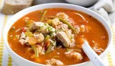 Maaltijdsoep Met Kip En Rijst Healthy Soup, Healthy Recipes, Vegetarian Recepies, Soup Recipes, Cooking Recipes, Cooking Time, Good Food, Yummy Food, Healthy Eating Habits