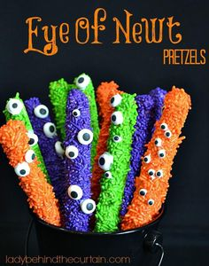 Eye of Newt Pretzels