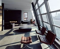 Archi-Tectonics designed the Schein Loft in Manhattan, New York.