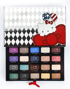 Hello Kitty 40th Anniversary Collection of delectable eye colors by Sephora