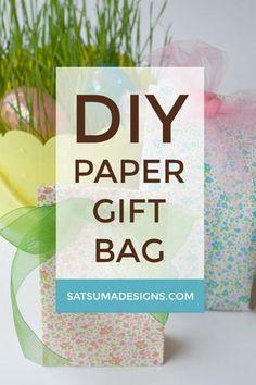 DIY Paper Gift Bag P