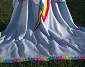 My Little Pony Friendship is Magic Rainbow Dash Fleece Blanket