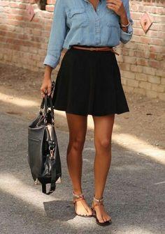 #skirt #purse #cute #clothing #fashion #fashionable #cool