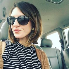 Every time I go to the salon my hair gets a little shorter!! I love it thank you @lildrysdale for doing such a wonderful job!! I'm keeping this length for a while!! #growsalon #laurensdabest #shorthairdontcare