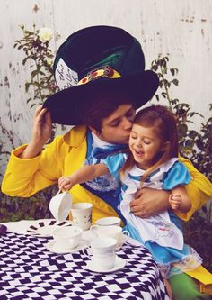 Cutest Mad Hatter and Alice ever