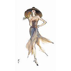 balmain illustration by grua