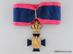 A Bavarian Royal Merit Order of St. Michael in Gold; Second Clas   eMedals