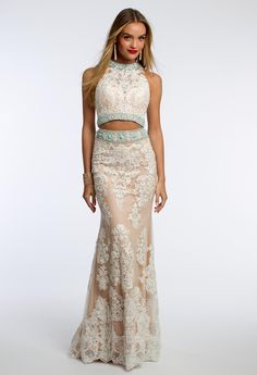 Lace Two-Piece With