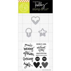 H Arts Kelly Purkey Everyday Clips Stamp and Cuts