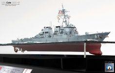"DDG-67 ""COLE"", built by master modeler Kim hyun-soo, south korea"