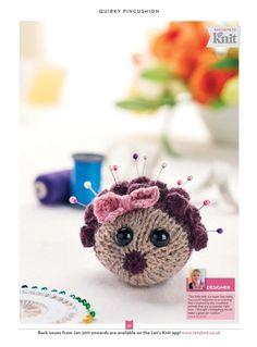Lets Knit Issue 90 2015 - 轻描淡写 - 轻描淡写