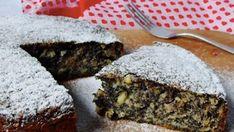Makový koláč s jablky hotový za 2 minuty recept – magnilo Toffee Bars, Sweets Cake, Meatloaf, Stevia, Food Art, Sweet Recipes, Cooking Tips, Banana Bread, Food And Drink