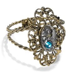 Hey, I found this really awesome Etsy listing at https://www.etsy.com/listing/168879998/steampunk-jewelry-cuff-bracelet-vintage