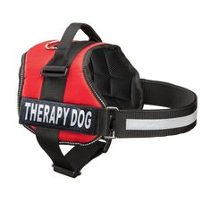 Therapy Dog Vest Harness, Service Dog Vest with 2 Reflective THERAPY DOG Patches, by Industrial Puppy *** For more information, visit now : All pet supplies