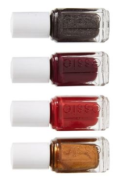 The stunning, sultry shades of this Essie nail kit are perfectly suited for autumn. @nordstrom