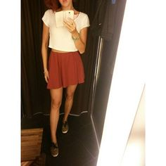 Stylish tip of the day: This season wear burgundy #ootd #girly #trend #cute