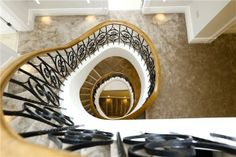 swirling staircase