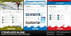Volare - Trekking, Sailing, Diving WordPress Theme . Volare – Trekking, Sailing, Diving WordPress