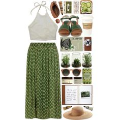 """""""Summer Day"""" by child-of-the-tropics on Polyvore"""
