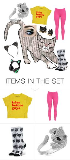 """crazy cat lady"" by chloeunicorn325 on Polyvore featuring art"