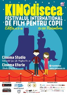 Kinodiseea is the first children's film festival held in Romania after 1989.