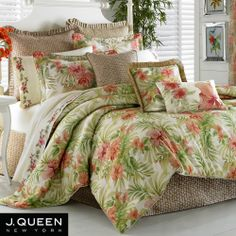7 Best Tropical Bedding Images Tropical Bedding Bedding