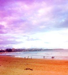 Our local break... Man-Town #manlybeach #beachsunsets