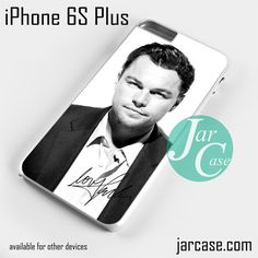 Leonardo Di Caprio Actor Phone case for iPhone 6S Plus and other iPhone devices