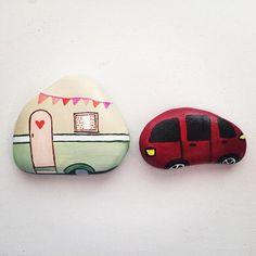 Car & camper rock.