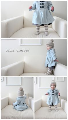 DIY baby dress coat (with pattern and tutorial). Cannot get over how adorable this is!