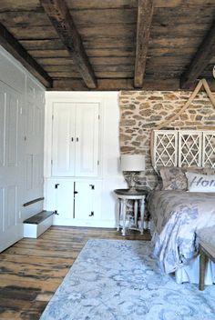 Stone House Revival Bedroom Retreat