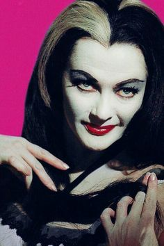 "~ † Yvonne De Carlo † ~ As Lily Munster In The 60"" s Sitcom The Munsters ~"