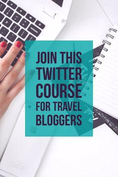 Grow Your Travel Blog Following with this Twitter Course for Travel Bloggers #travel #Travelblog #blogging #marketing #smm #socialmediamarketing