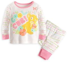 Disney Nala PJ PALS Set for Baby - The Lion King Girls Sleepwear 58773732a
