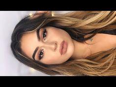 Easy natural sexy smoky eye makeup tutorial i aylin melisa – watch video Brown Smokey Eye Makeup, Soft Eye Makeup, Smokey Eye For Brown Eyes, Glitter Eye Makeup, Natural Makeup Looks, Makeup For Brown Eyes, Heavy Makeup, Natural Hair, Face Makeup