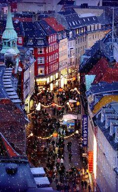 Copenhagen at Christmastime, Denmark