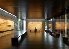 Aidlin Darling creates a meditation centre at Stanford University with rammed-earth walls.