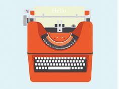 Typewritter by Rabea Benkadi