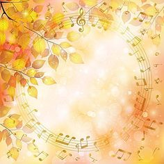 """Photo from album """"Осенние фоны"""" on Yandex. Music Notes Background, Map Background, Background Patterns, Fall Wallpaper, Paper Wallpaper, Scrapbook Paper, Scrapbooking, Borders And Frames, Glitter Graphics"""
