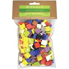 Eco-Mosaics Simple 1 Pound-Assorted   SongbirdCrafts - Clay, Metal, Glass & Stone on ArtFire