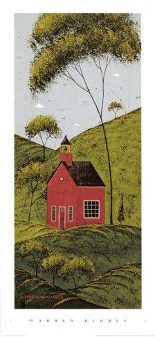 Warren Kimble art - love his country style