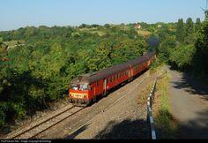 RailPictures.Net Photo: Btx 032 Hungarian State Railways (MÁV) MDmot at Pécsvárad, Hungary by Dobrogi