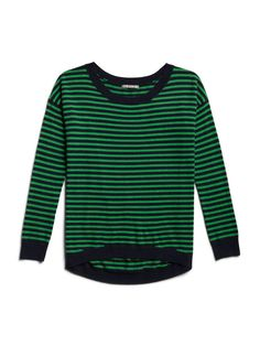 Eversoft circle hem striped sweater #GapLove  Can't get enough of all the stripes this year... love it
