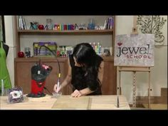 Online Course-Jewelry Tool Video to drill holes through beads or stones-More videos here
