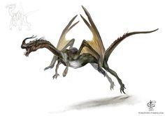 Dragon by V4m2c4.deviantart.com on @DeviantArt