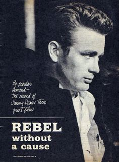 Rebel Without A Cause: A rebellious young man with a troubled past comes to a new town, finding friends and enemies.