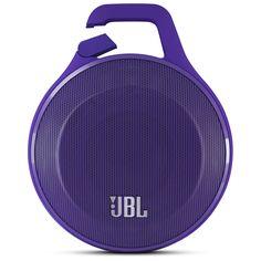 JBL Clip Portable Bluetooth Speaker With Mic - #Purple | PCRichard.com | JBLCLIPPUR